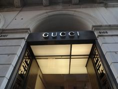 A lovely Gucci store. #gucci #store