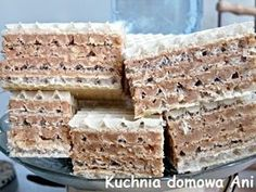 Polish Desserts, Polish Recipes, Low Carb Side Dishes, Pumpkin Cheesecake, Food Cakes, Cookie Recipes, Delicious Desserts, Sweet Tooth, Favorite Recipes