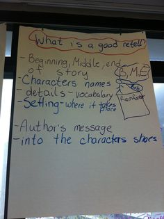 What is a good retell?