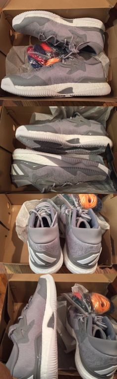 Basketball: Adidas Cl Boost Low 2016 Mens Size 13.5 Basketball Shoes Grey White New -> BUY IT NOW ONLY: $64.95 on eBay!