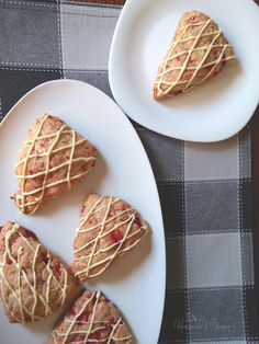 Strawberry Scones Ready to Eat