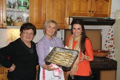 Chef Angela Carlino and her Aunts... So cute!