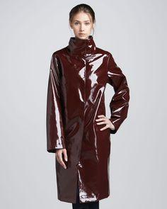 Brown PVC Raincoats