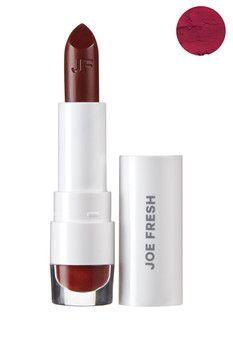Joe Fresh Cream Lipstick - Wine