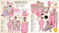 lagoon, baby, bath, pink