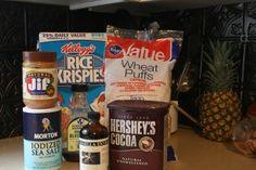 Healthy Chocolate Crispy Treats