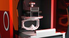 3D rendering for DWS XFab 3D printer