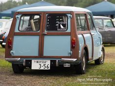 #Mini Estate - lovely colour, like the darker wood