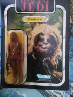 Star Wars Chewbacca Kenner Vintage 1983 by AlwaysPlanBVintage on Etsy