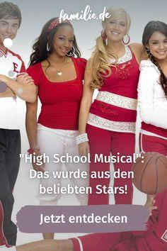 """Vor ungefähr 15 Jahren brachte der Disney Channel einen beinahe unangefochtenen Klassiker heraus, der bis dato bei allen Disney-Fans für Freude sorgt: Die Rede ist von der legendären """"High School Musical""""-Reihe, in der sich alles um Musik, Tanz und die Liebe dreht – also alles, was das Herz begehrt. High School Musical, Baby News, Mama Blogger, Teenager, Disney Channel, Beauty, Movies, Movie Posters, Movie"""
