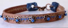 Make a bracelet with your old boots - photo tutorial