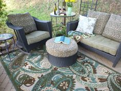 Plastic Outdoor Area Rug - Best Choice For Patios