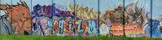 Street art gymnase lycée hôtelier à Étiolles - Street Fighter en couleur 20160420112