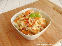 Smak Mojego Domu: Surówka z kapusty pekińskiej, z sosem sojowym