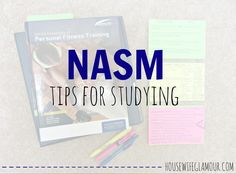 Tips for Studying for the CPT Exam with NASM! #NASM #CPT #FitFluential