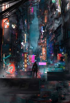 Welcome to Cyberpunk Cities, The place where we showcase all types of Cyberpunk inspired art and photography! Arte Cyberpunk, Cyberpunk Aesthetic, Cyberpunk City, Futuristic City, City Aesthetic, Cyberpunk 2077, Wallpaper Animes, Anime Scenery Wallpaper, City Wallpaper
