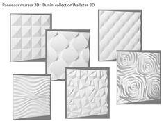 panneaux muraux 3 D Dunin