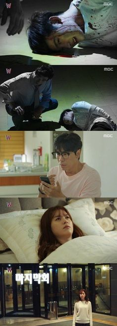 [Spoiler] Added episode 14 captures for the #kdrama 'W'