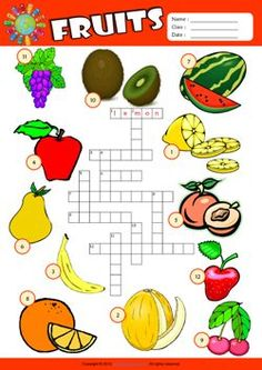 Fruits ESL Printable Worksheets For Kids – Cool Math Games – Cool Math – Hooda Math Games English Grammar For Kids, English Worksheets For Kids, English Lessons For Kids, English Activities, Teaching English, Activities For Kids, Kids Worksheets, Teacher Worksheets, Fruit Names