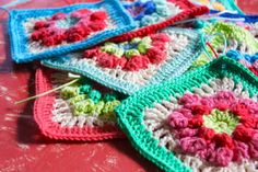 little woollie: Flowers abound and a giveaway!