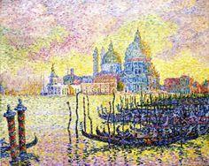 Schilderij Grand Canal Venice