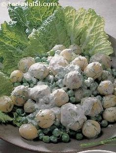 Peas and Potato Salad ( Healthy Diabetic Recipe ) #Diabetic #recipes