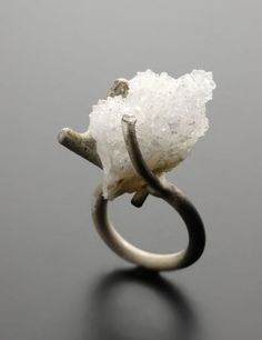 ring, crystal - catalina brenes