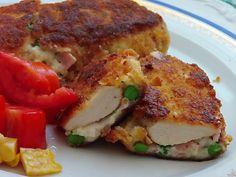 Ručak kod Mucike: Villeroy piletina/pohana piletina u kaputiću od bešamela