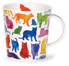 Dunoon - Fine Bone China Mugs - Lomond Shape : Cool Cats