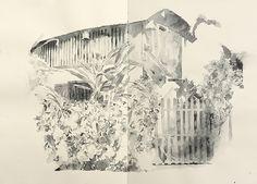 The buildings of Kounxoua Street | Urban Sketchers