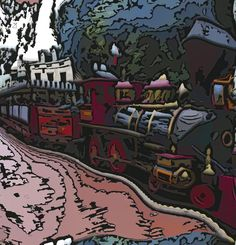 Distorted Train Fantasy Images, Phone Backgrounds, Public Domain, View Image, Free Stock Photos, Graphic Art, England, Train, Pictures