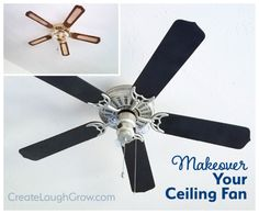 How to Makeover Your Ceiling Fan