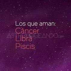 #Cáncer #Libra #Piscis #Astrología #Zodiaco #Astrologeando astrologeando.com