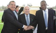 BLATTER INAUGURATES TWO GOAL PROJECTS IN MOROCCO