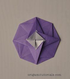 Origami Octagonal Tato Tutorial | Origami Tutorials