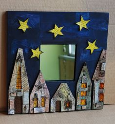 A cute project for the kids, I'd add a little moon and some minerets too :-)
