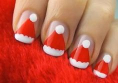 Here are our Adorable Cute And Superb Nail Art For Kids. You can see this all kids nail art and select easy nail art designs to do at home for Kid nails. Xmas Nails, Holiday Nails, Halloween Nails, Christmas Nails, Fun Nails, Christmas Hat, Merry Christmas, Holiday Makeup, Christmas Dance