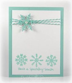 Sparkling Season by pegmac71 - Cards and Paper Crafts at Splitcoaststampers
