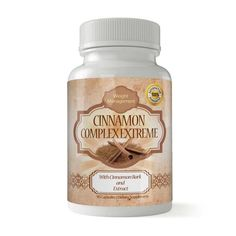 Swallow this cinnamon bark extract dietary supplement to encourage a better memory and easier digestion. Each capsule offers 1000 milligrams of cinnamon bark extract which may help improve bad LDL cholesterol levels. Reduce Cholesterol, Cholesterol Levels, Cholesterol Diet, Slimming Pills, Weight Loss Drinks, Natural Home Remedies, Diet Pills, Weight Loss Program, Lose Weight