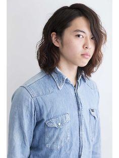 オムヘアーツー (HOMME HAIR 2)メンズロング・外国人風MIXパーマ【水道橋 メンズサロン】