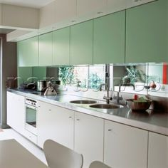 Green zebrano high gloss kitchen modern kitchen design for Kitchen ideas zebrano