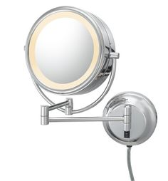 Double Sided Fluorescent Lighted Mirror 209 90 Makeup
