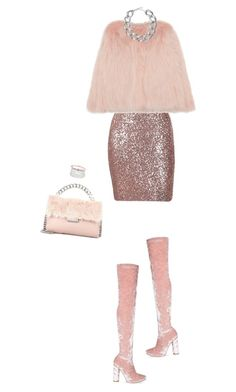 """Pink party"" by hevsyblue2 ❤ liked on Polyvore featuring STELLA McCARTNEY, INC International Concepts, Givenchy and Kenneth Jay Lane"