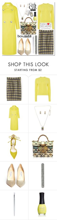 """Work Wear"" by vanjazivadinovic ❤ liked on Polyvore featuring Polo Ralph Lauren, Marni, Steve Madden, Giancarlo Petriglia, Jimmy Choo, ORLY, Chloé, women's clothing, women and female"