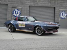 Driven on the road course at speed, for the very first time at the Midwest Musclecar Challenge, Jill's '66 Corvette is powered by a 383rwhp LS1 with a Bowler Performance Transmissions TKO600 trans and rides on RideTech shocks, Wilwood Disc Brakes, and 18-inch Forgeline GZ3R wheels finished with Gunmetal centers and Polished outers. See more at: http://www.forgeline.com/customer_gallery_view.php?cvk=1387  #Forgeline #GZ3R #notjustanotherprettywheel #madeinUSA #Chevy #Corvette #C2