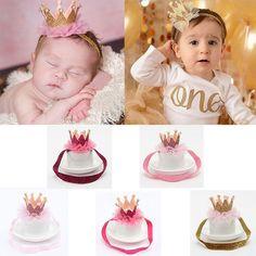 Kids Girl Baby Toddler Crown Tiara Head Band Hair Band Hair Head Piece Nice  Acce  UnbrandedGeneric e6cf326c0eae
