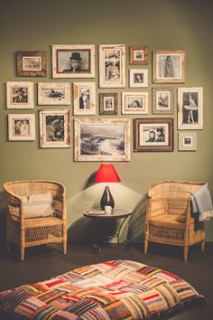 South African Interior Design - wooden frames by Luna Designs