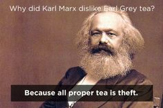 Little known fact about Marx ;)