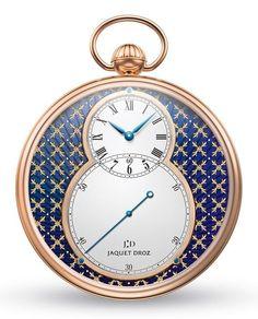 Jaquet Droz pocket watch