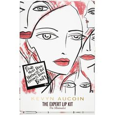 Kevyn Aucoin Limited Edition The Expert Lip Kit (€40) ❤ liked on Polyvore featuring beauty products, makeup, lip makeup, pink, kevyn aucoin, kevyn aucoin cosmetics and kevyn aucoin makeup